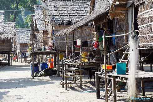 Деревня мокен